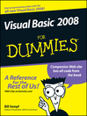 Visual Basic 2008 For Dummies (eBook)