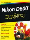 Nikon D600 For Dummies (eBook)