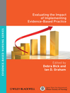 Evaluating the Impact of Implementing Evidence-Based Practice (eBook)