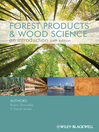 Forest Products and Wood Science (eBook)