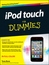 iPod touch For Dummies (eBook)
