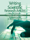 Writing Scientific Research Articles (eBook): Strategy and Steps