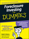 Foreclosure Investing For Dummies (eBook)