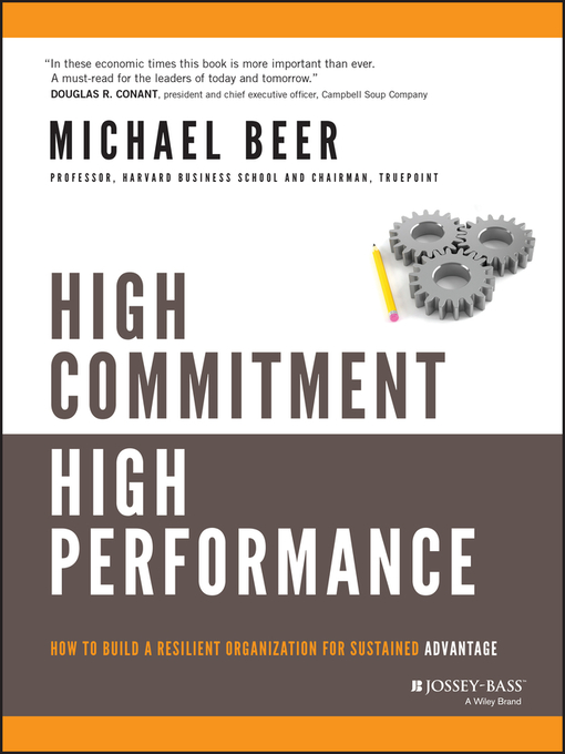 High Commitment High Performance (eBook): How to Build A Resilient Organization for Sustained Advantage