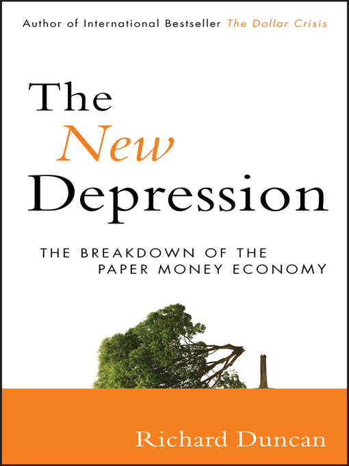 The New Depression (eBook): The Breakdown of the Paper Money Economy