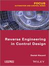 Reverse Engineering in Control Design (eBook)