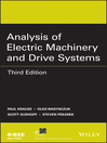 Analysis of Electric Machinery and Drive Systems (eBook)