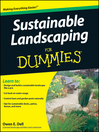 Sustainable Landscaping For Dummies® (eBook)