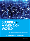 Security in a Web 2.0+ World (eBook): A Standards-Based Approach