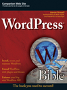 WordPress Bible (eBook)