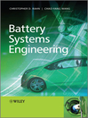 Battery Systems Engineering (eBook)