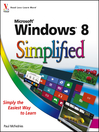 Windows 8 Simplified (eBook)