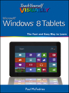 Teach Yourself VISUALLY Windows 8 Tablets (eBook)