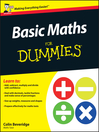 Basic Maths For Dummies (eBook)