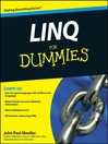 LINQ For Dummies® (eBook)