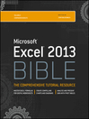 Excel 2013 Bible (eBook)