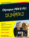 Olympus PEN E-PL1 For Dummies (eBook)