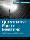 Quantitative Equity Investing (eBook): Techniques and Strategies