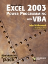 Excel 2003 Power Programming with VBA (eBook)