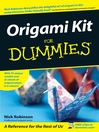 Origami Kit For Dummies® (eBook)