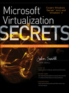 Microsoft Virtualization Secrets (eBook)