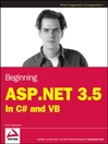 Beginning ASP.NET 3.5 (eBook): In C# and VB