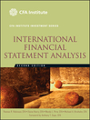 International Financial Statement Analysis (eBook)
