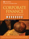 Corporate Finance Workbook (eBook): A Practical Approach
