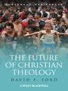 The Future of Christian Theology (eBook)