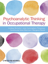 Psychoanalytic Thinking in Occupational Therapy (eBook)
