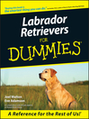Labrador Retrievers For Dummies (eBook)