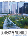 Becoming a Landscape Architect (eBook): A Guide to Careers in Design