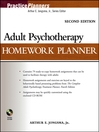 Adult Psychotherapy Homework Planner (eBook)