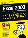 Excel 2003 All-in-One Desk Reference For Dummies (eBook)