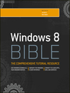 Windows 8 Bible (eBook)