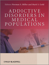 Addictive Disorders in Medical Populations (eBook)
