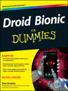 Droid Bionic For Dummies (eBook)