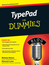 TypePad For Dummies (eBook)
