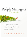 The People Manager's Tool Kit (eBook): A Practical Guide to Getting the Best From People