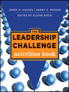 The Leadership Challenge (eBook): Activities Book