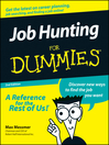 Job Hunting For Dummies (eBook)