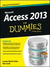 Access 2013 For Dummies (eBook)