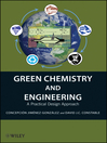 Green Chemistry and Engineering (eBook): A Practical Design Approach