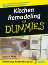 Kitchen Remodeling For Dummies (eBook)