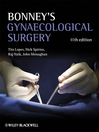 Bonney's Gynaecological Surgery (eBook)