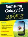 Samsung Galaxy S 4 For Dummies (eBook)