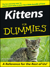 Kittens For Dummies (eBook)