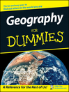 Geography For Dummies (eBook)