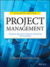Project Management (eBook): A Systems Approach to Planning, Scheduling, and Controlling