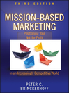 Mission-Based Marketing (eBook): Positioning Your Not-for-Profit in an Increasingly Competitive World